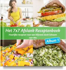 Review: Het 7×7 Afslank Receptenboek Album 1 (Jasper Alblas)